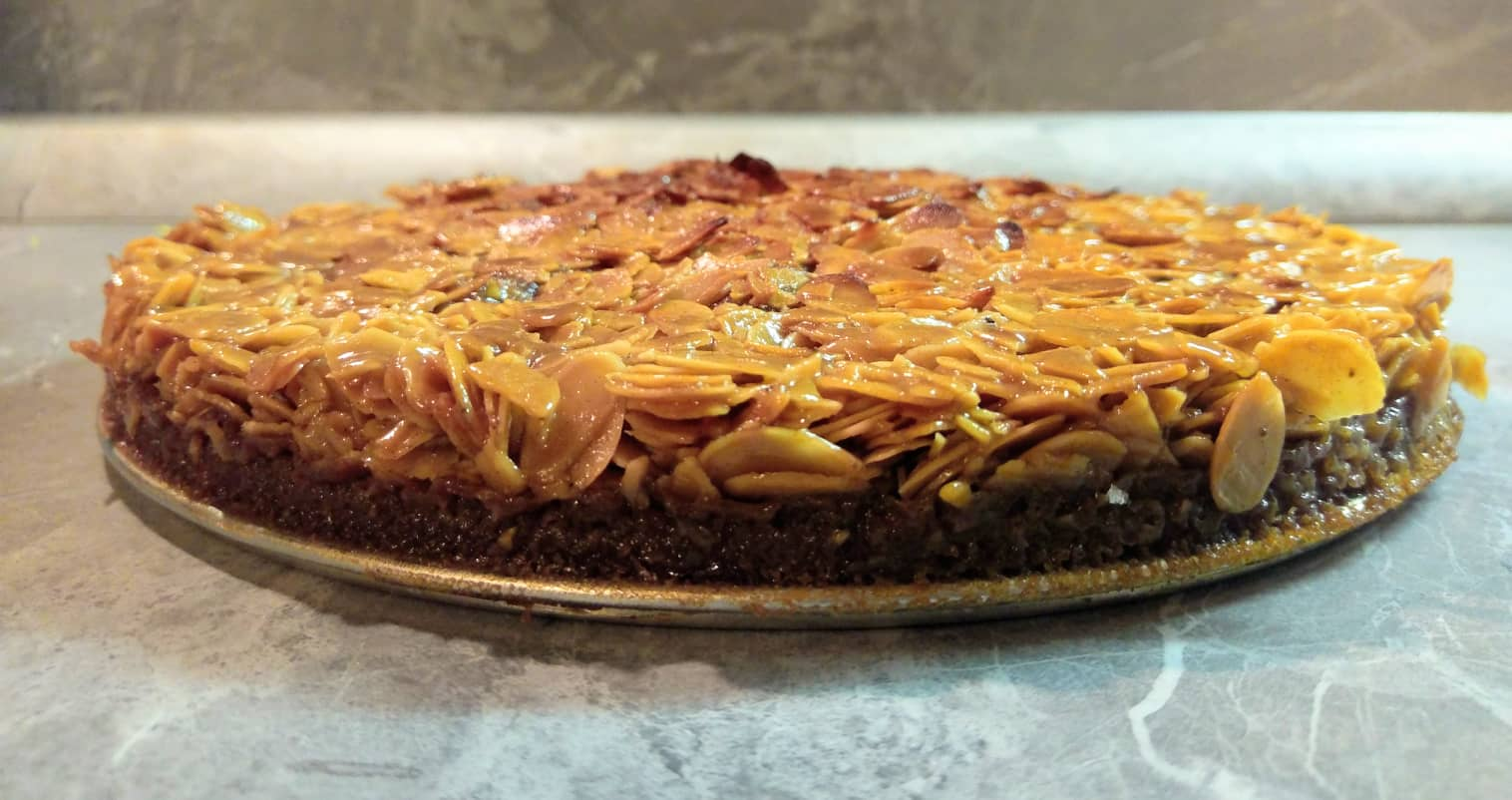 Švedski kolač s bademima (Tosca cake)