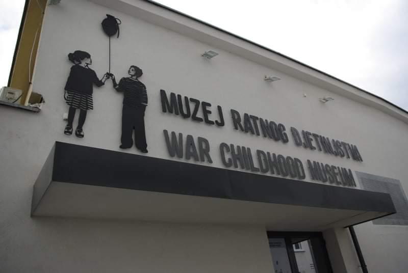 U Muzeju ratnog djetinjstva