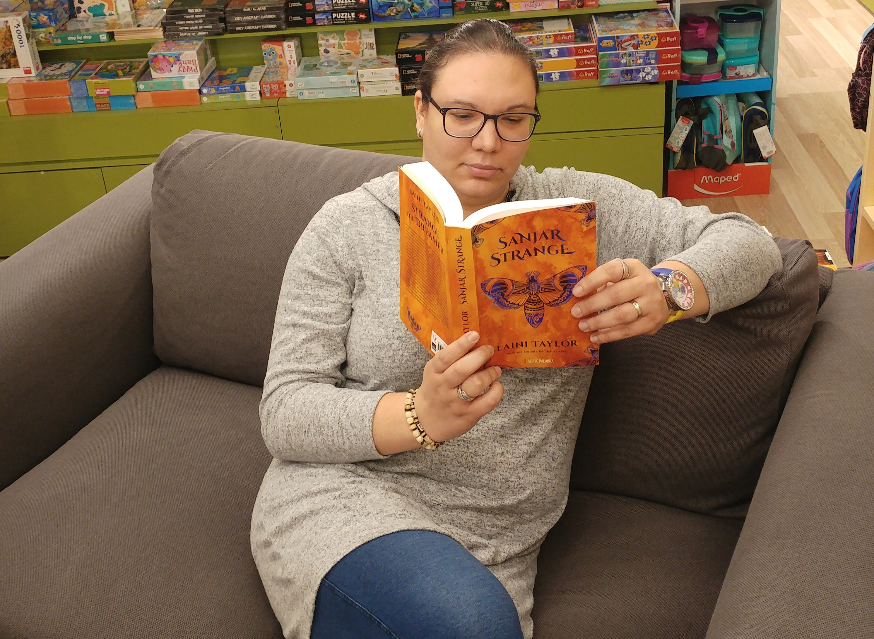 """Andrea Cvjetković – blogerica, recenzentica i kreatorica sve popularnijeg """"Sovinog kutka"""""""