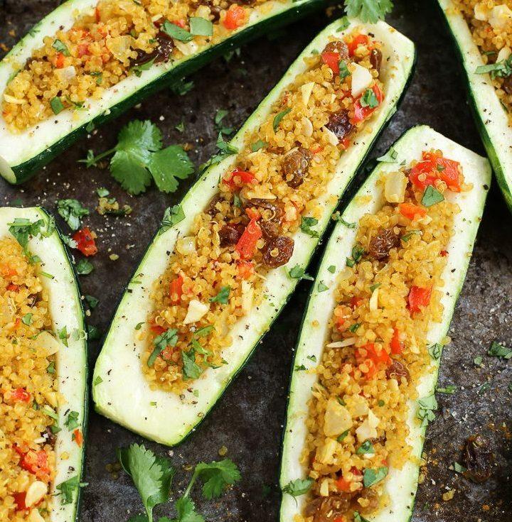 Ideja za ručak: tikvice punjene povrćem i kvinojom