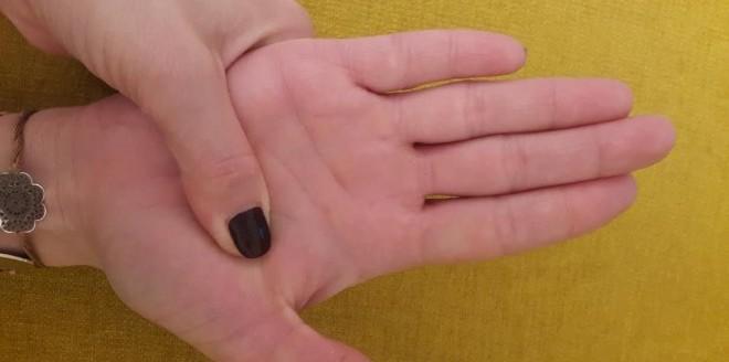 5 točaka na dlanovima koje kontroliraju naše cijelo tijelo