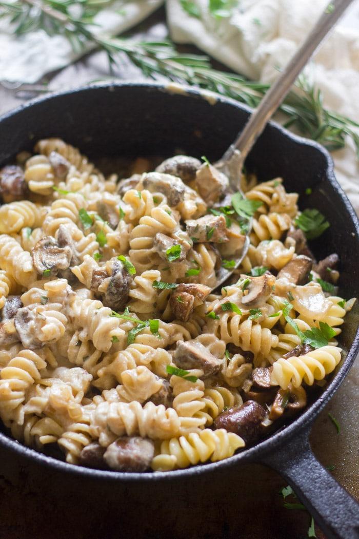 Recept: Stroganoff od gljiva