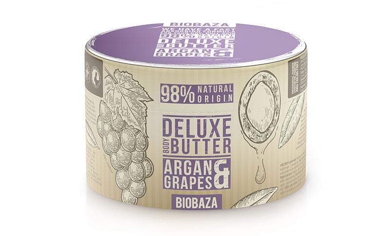 Isprobale smo! Biobaza maslac za tijelo s grožđem i arganom