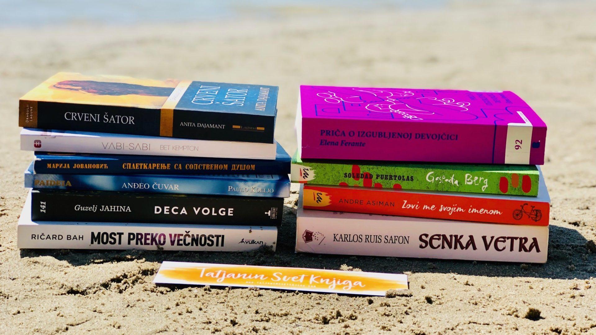 10 knjiga uz koje ćete uživati ovog ljeta