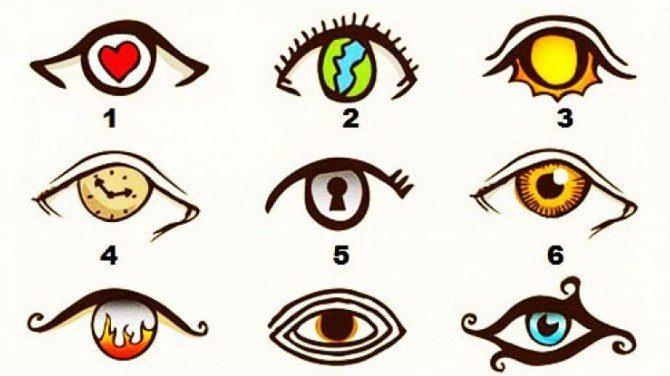 Odaberite oko koje vas privlači i otkrijte kakvi ste u dubini svoga bića?