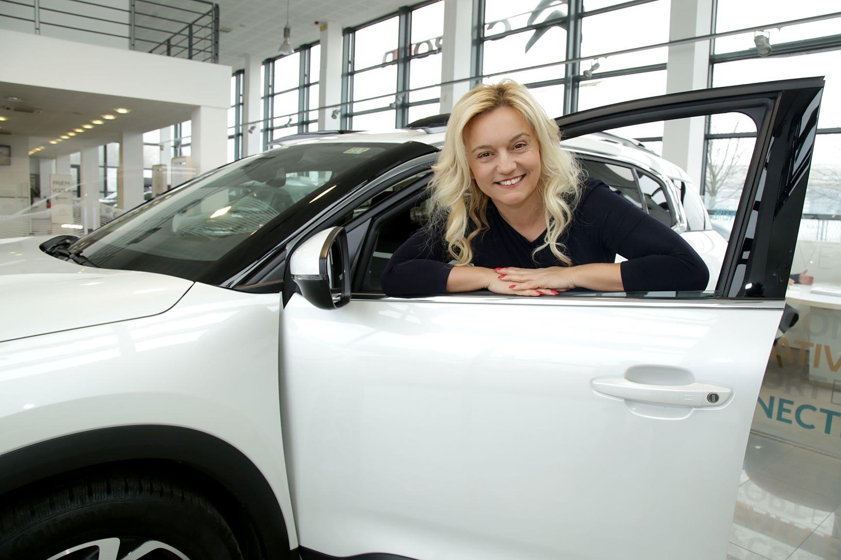 Citroën – službena marka vozila  žena u poduzetništvu – članica Ženskog poduzetničkog centra