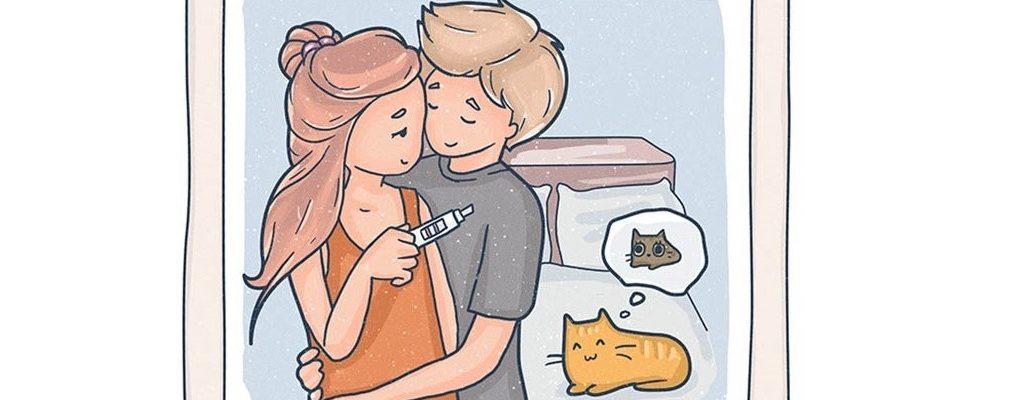 Ususret Valentinovu: 14 ilustracija koje govore kakva je prava ljubav