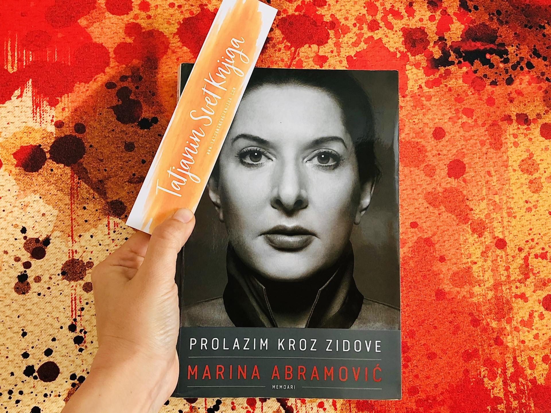 Marina Abramović: Prolazim kroz zidove